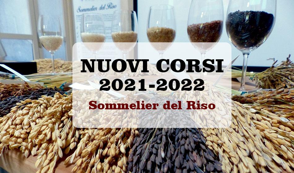 Sommelier del Riso 2021-2022: le nuove date dei Corsi #sommelierdelriso